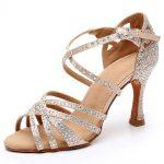 tanečné topánky s kamienkami