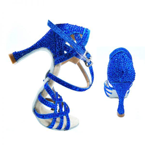 tanecne topanky modre