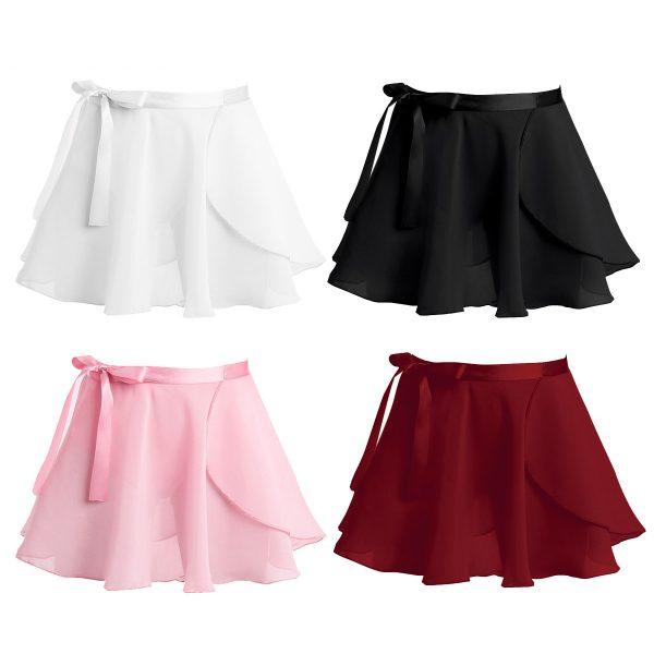 zavinovacia tanečná suknička pre dievčatá