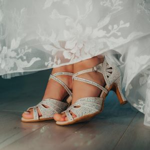 Svadobné tanečné topánky