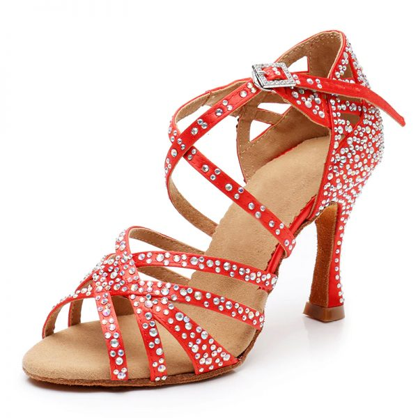 cervene tanecne topánky