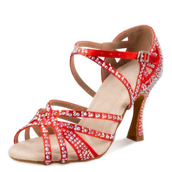 červené tanečné topánky