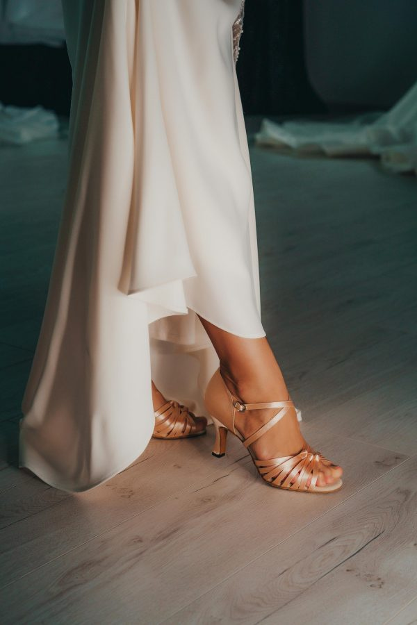 svadobne tanecne topanky k IVORY satam