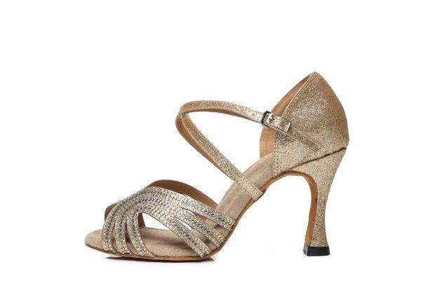 zlate tanecne topanky