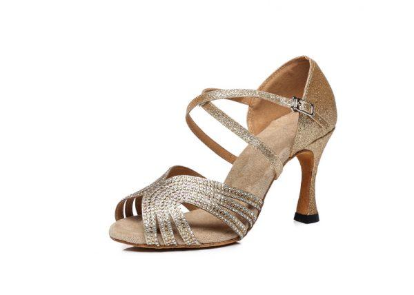 tanecne topanky pre nevestu zlate