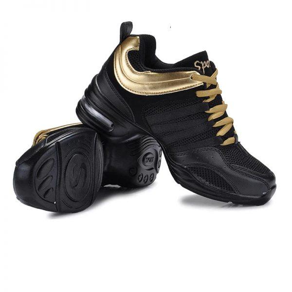 tréningové topánky zlaté